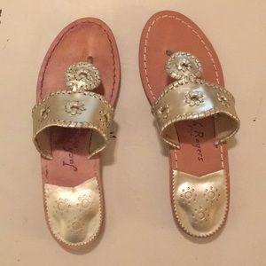 NWT Jack Rogers hamptons sandals